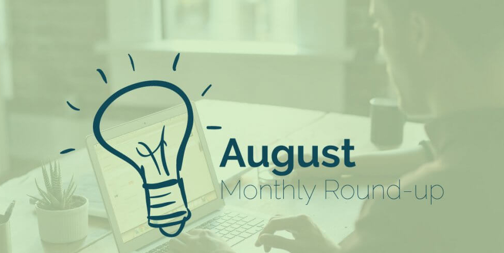 Monthly Roundup – August 2019